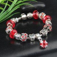 Pandoras Charm Tower Pendant Bracelet for Pandora Platinum DIY Beaded Lady Elegant Bracelet with Original Box Holiday Gift