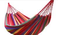 그물 침대 가구 홈 드롭 배달 2021 판매 150 KG로드 베어링 정원 해먹 휴대용 침대 여행 캠핑 야외 수면 Wjenh