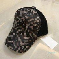 Yeni 21Casquette Üst Tasarımcılar Kapaklar Şapka Erkek Kaliteli Moda Sokak Topu Kap Şapka Tasarım Caps Beyzbol Şapkası
