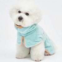 Verano mascota perro gato fibra fino absorbente envuelto completo bathrobe bathrobe bathrobecomfort traje dogcostume