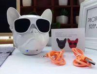 블루투스 스피커 JARRE AERO BULL NANO DOG HEAD 무선 휴대용 스테레오 서브 우퍼 핸즈프리 Aerobull 아이폰 8 X에 대 한