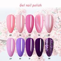 Nail Art Kits 2021 Gel Polish Color Soak Off UV For Nails Cat Eye Varnish Hybrid Shinny Gellac Lacquer Manicure Top Base Coat