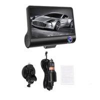 Car DVR 3 2 Cameras Lens 4.0 Inch Dash Camera Dual With Rearview Video Recorder Auto DVRS Cam