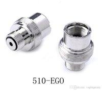 510 a Adaptador Ego Adaptadores E-Cigarette Tornillo de batería Adaptador de rosca EGO-510 Converter Extender Cigarrillo electrónico