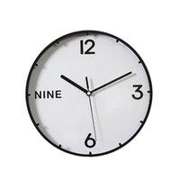 Настенные часы Современный дизайн Часы домашнего декора Отмысление Творческая гостиная Ванная комната Кухня undefined Зегар Scienny Clocks