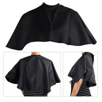 Short Square Cape Hairs Dye Tools Black Waterproof Hairdressing Salon Barber Hair Cutting Cloth Wrap