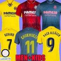 2021 Villarreal cf Soccer Jerseys Foyth Geraro 21 22 Casa Away Terzo Terzo 3 ° Danjuma Dia PAU Prendere Chukwueze Shirt Parejo Paco Alcácer M.Trigueros Moi Gomez Uniform