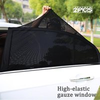 Car Sunshade 1pcs Styling Accessories Sun Shade Auto UV Protect Curtain Side Window Mesh Visor Protection Films