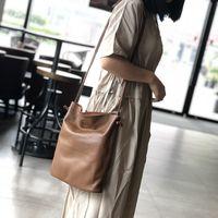 Bag Luxurys Bagsnew High-capacity Leather Bucket for Women