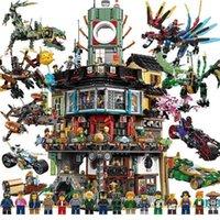 Compatible con LEGO PHANTOM NINJA DRAGÓN DRAGÓN Rompecabezas infantil Bloques de construcción de 8 personas Brain Toy Boys de 6 a 14 años