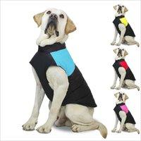 Köpek Giyim Sonbahar Kış Sıcak Yelek Yelek Palto ile Tasmalar Yüzükler Pet Köpekler Giyim Bırak Gemi ZWL20