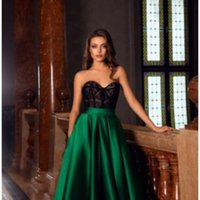 2021 Cheap Green Sequined Off Shoulder Evening Dresses Luxury High Side Split Prom Gown with Detachable Train Long Formal Party Gown