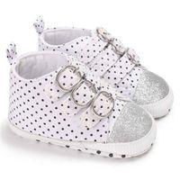 First Walkers Infant Toddler Girls Baby Soft Bottom Shoes Prewalker Born Polka Dot Sport Outdoor