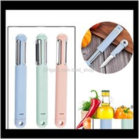 Other Accessories 3In1 Peeler Kitchen Tools Creative Multifunctional And Vegetable Shreddingpeelingstainless Steel Fruit Knife Ewd5250 Ijcqg