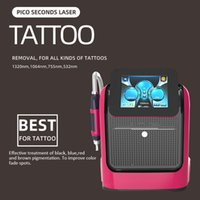 Professional Picosecond Q switched nd yag laser 532 1064 1320 755Nm Tattoo Removal Machine Pico Laser devices For Salon Use