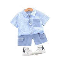 Clothing Sets Summer Children Boys Cartoon Baby Girls Fashion Shirt Shorts 2Pcs sets Kids Infant Clothes Toddler Cotton Tracksuit