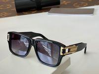 Occhiali da sole estivi per uomini e donne in stile GM Due piastra anti-ultravioletta Placca retrò Full frame Eyeglasses casuale casuale
