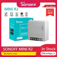 Smart Home Control Sonoff Mini R2 التبديل ثنائي الاتجاه بعيد عن طريق WiFi Hub Voice Alexa Google House