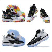 2021 جودة عالية Jumpman Zion 1 PF Nubuck أحذية كرة السلة الجلود رجالي أحذية رياضية بيضاء وأسود