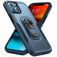 Armor Case Phone Cases Holder Kickstand Shockproof Hard for iPhone 13 Pro Max 12 11 XR X Xs 7 8 Plus Samsung Galaxy S10 S20 S21FE Uitra A22 A32 A42 A52 Bumpers Stand Cover