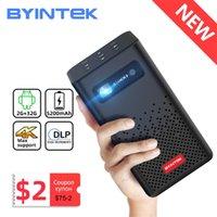 BYINTEK P20 Mini Portable Smart Android WiFi TV Video Pico LED Proyector DLP para Full HD 1080P Mobile Smartphone PC 4K CINEMA 210609