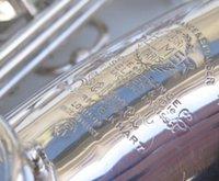 نموذج مارك السادس 1958 ألتو ساكسفون الفضة مطلي نسخة 95٪ نفس eb e flat sax