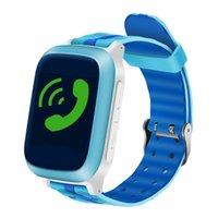 أطفال رصد الطفل الذكية ووتش الهاتف الآمن ووتش gps wifi sos الاتصال محدد موقع المقتفي مكافحة فقدت دعم بطاقة sim smartwatch ل iphone الروبوت