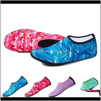 Athletic Outdoor Accs & Outdoors Drop Delivery 2021 Children Pink Socks Women Aqua Beach Dry Scuba Boot Shoes Diving Sock Water Sports Surfin