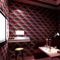 Wallpapers KTV Wallpaper 3D Three-dimensional Personality Fashion Flash Wall Cloth Bar El Fancy Ballroom Box Theme Room