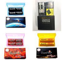 Аутентичные батареи IMR 18650 yellow Blue Blue Red Blackcell BITFIRE BMR 3000 мАч 3500 мАч 35A 3,7 В Высокий сливной перезаряжаемый литий Vape Mods Batteries Original