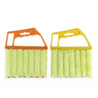 أدوات التنظيف مفيدة ستوكات نافذة نظيفة فرشاة مكيف الهواء المنفضة نظافة مع قابل للغسل البندقية GWB6129