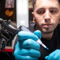 문신 바늘 4 세트 200pcs 일회용 니들 튜브 노즐 팁 (투명)