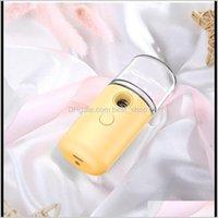 Ätherische Öle Diffusoren USB-Ladespritzen-Luftbefeuchter-Luftaufnahme Nano-Handheld-Gesichtsdampfer Feuchtigkeitscreme Hautpflege-Dampf-Hydratation Humidif YR1PN