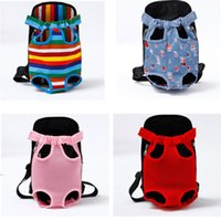Cat Carriers,Crates & Houses Mesh Pet's Travel Bags Denim Portable Pet Dog Ventilation Backpack Go Out Easy To Carry Pets#0211g10