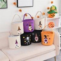 Хэллоуин конфеты сумки вечеринка декоративная корзина для Хэллоуина Детская сумка тыквенные корзины ZZF8920