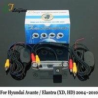 Auto-Rückansicht-Kameras-Parking-Sensoren-Kamera für Avante Elantra XD HD 2004 ~ 2010 / RCA AUX-Schnittstelle Nachtsicht-Funk-Rückansicht