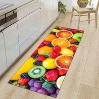 Home Floor Mat 3D Printed Rug Door Mats Kitchen Carpets Anti-Slip Welcome Indoor Doormat Carpet for Living Room Washable