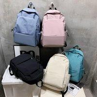 Backpack Fashion Men Laptop Women Daypack Solid Color School Bags For Girls Boy Waterproof Bookbags Travel Bagpack