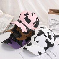 زيبرا شريط البيسبول قبعة البقر الحبوب غسلها الكرة قبعات حزب لصالح الأزياء في الهواء الطلق واقية من الشمس احتفالي القبعات لوازم 8styles DWC7561