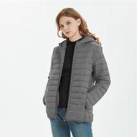 Warm Jacket Women's Down Parkas Loose Plus Velvet Cotton Padded Coat Simple Zipper Fashion Bread Clothes Autumn And Winter Cold Proof Thick Coat