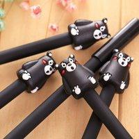 Корейский канцтовары Kawaii милый медведь перо реклама творческий согнутой школьной офисной гель ручки рождественский подарок