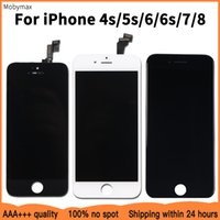 Factory Promotion LCD Replacement For iPhone 5s 6 goodQuality LCD Display Touch Screen For iPhone 6s 7 4s 8 100% Test Work