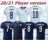 20 21 Scotland Futebol Jerseys Home 2021 Away Robertson Fraser Camisa de futebol Naismith McGregor Christie Forrest McGinn Versão do jogador
