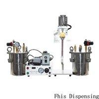 أدوات تعمل بالهواء المضغوط الدقة الاستيعاب صمام خزان الضغط للإبوكسي potting التلقائي AB مزدوجة آلة الري السائل