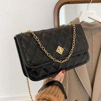 "GG""LV""Louis…Bag Vitton""YSL… Classic Diamond Crossbody Shoulder Bags Lattice Handbag 2021 Square Trendy Small P Jstq"