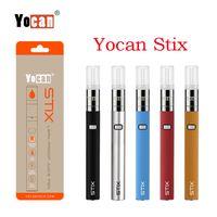 100% Original Yocan Stix E-Zigarette Kits Vape Stift Tragbare Verdampfer Starter Variable Spannung 320mAh Batterie Keramik Spule E Zigarette
