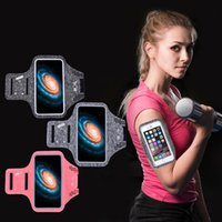 Running gym mobile phone arm bag Key card pocket men and women universal outdoor waterproof sports armband bags