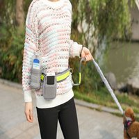 combined bag Pet waist products pet traction running four piece reflective rope for walking dog