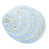 전구 10pcs SMD5730 LED PCB 21W 24W 30W 36W 85mm 110mm 112.8mm 120mm 전구에 대 한 흰색 / 자연 따뜻한 광원