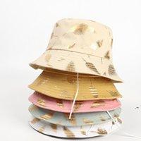 الصيف دلو قبعة صياد كاب النساء الرجال هدية واسعة بريم الزهور العالمي السفر في الهواء الطلق الشمس شاطئ القبعات OWA4642